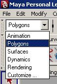 Polygon Menu