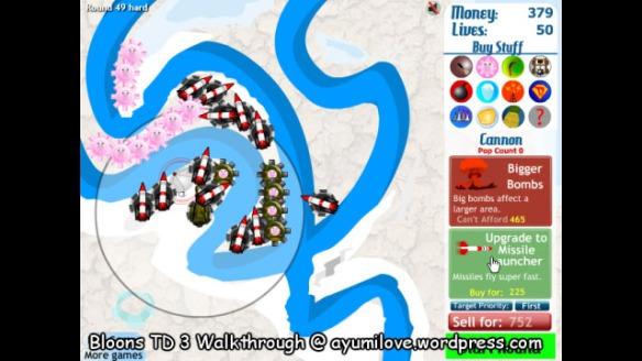 Kongregate – Play Bloons Tower Defense 3 – Guide Cheat Walkthrough