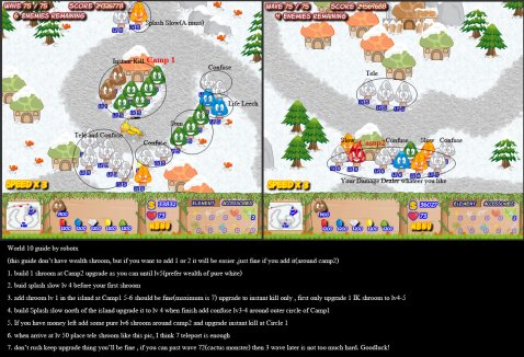 Mushroom Revolution Walkthrough World Map 10 b