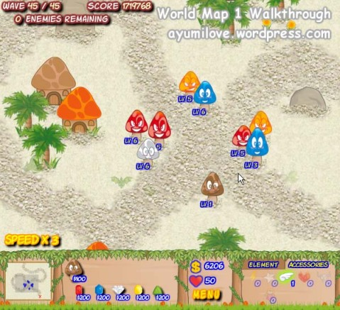 Mushroom Revolution Walkthrough World Map 1