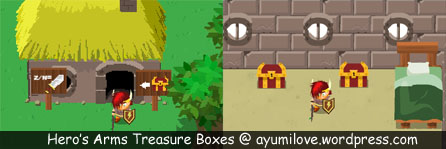 Hero's Arms Home Treasure Boxes
