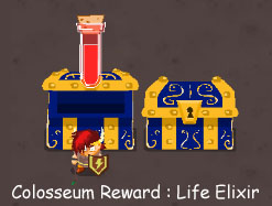 Hero's Arms Colosseum Life Elixir