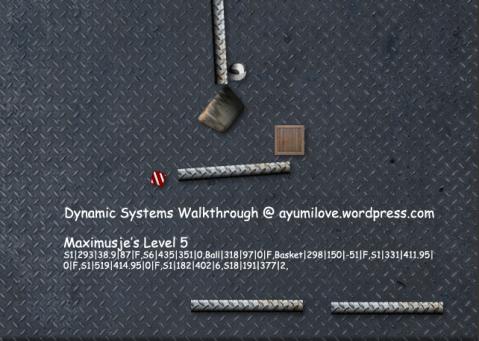 Maximusje Level 5 Dynamic System Walkthrough