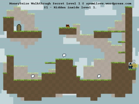 moneyseize walkthrough secret level 1 within level 1