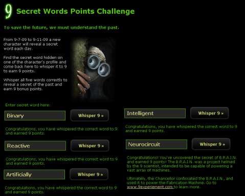 little wheel walkthrough secret five words