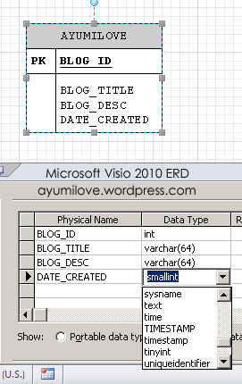 Microsoft visio 2010 erd using custom data types from database microsoft visio erd data type mysql ccuart Images