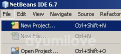 01 Netbeans New Project