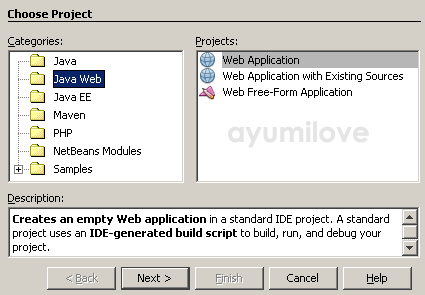 02 Netbeans Web Application Project