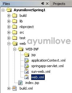 08 Netbeans Files Tab Web.xml
