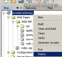 12 Netbeans Deploy Web Application