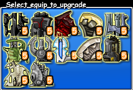 Epic Battle Fantasy 3 Equipment Gun
