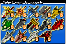 Epic Battle Fantasy 3 Equipment Sword