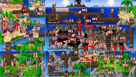 Epic Battle Fantasy 3 Rock Lake Map Walkthrough