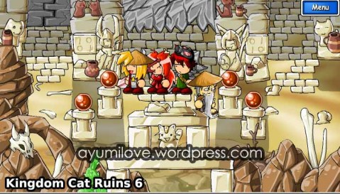 Kingdom Cat Ruins 9 Brown Crystal Walkthrough